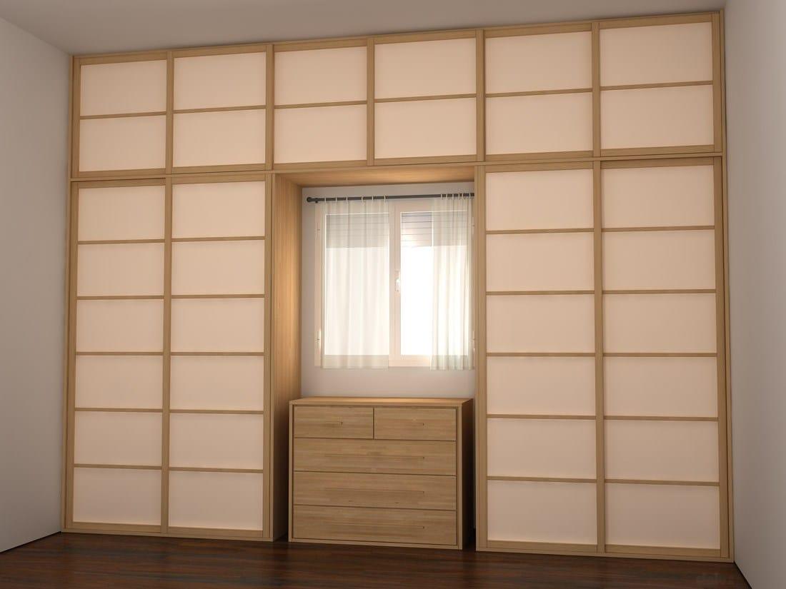 shoji cloison amovible coulissante by cinius. Black Bedroom Furniture Sets. Home Design Ideas
