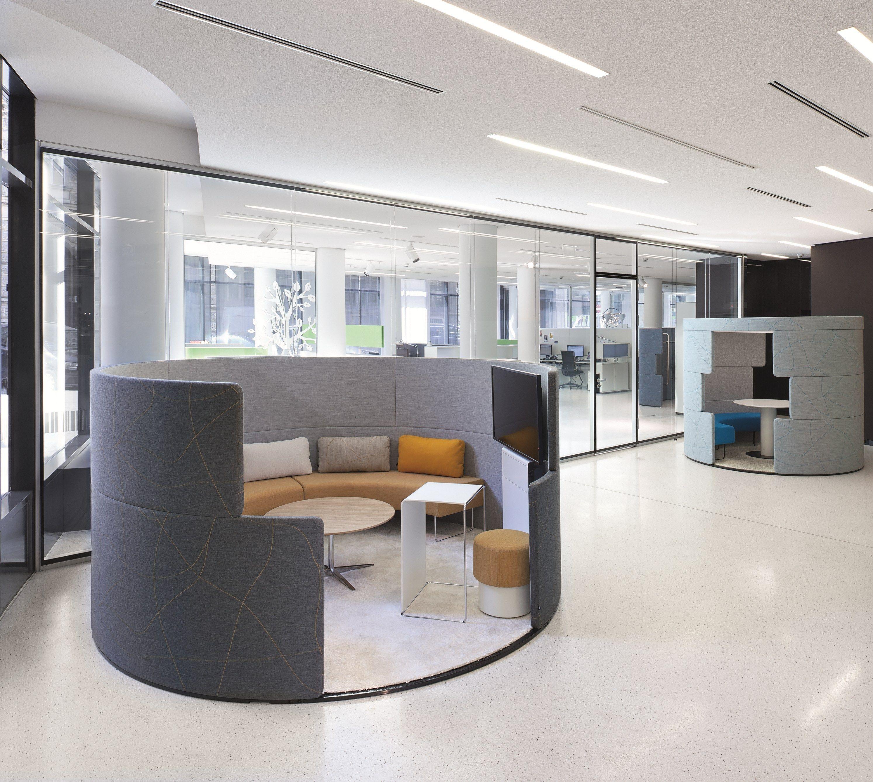 cabine de bureau pour r unions parcs toguna circle by bene design pearsonlloyd. Black Bedroom Furniture Sets. Home Design Ideas