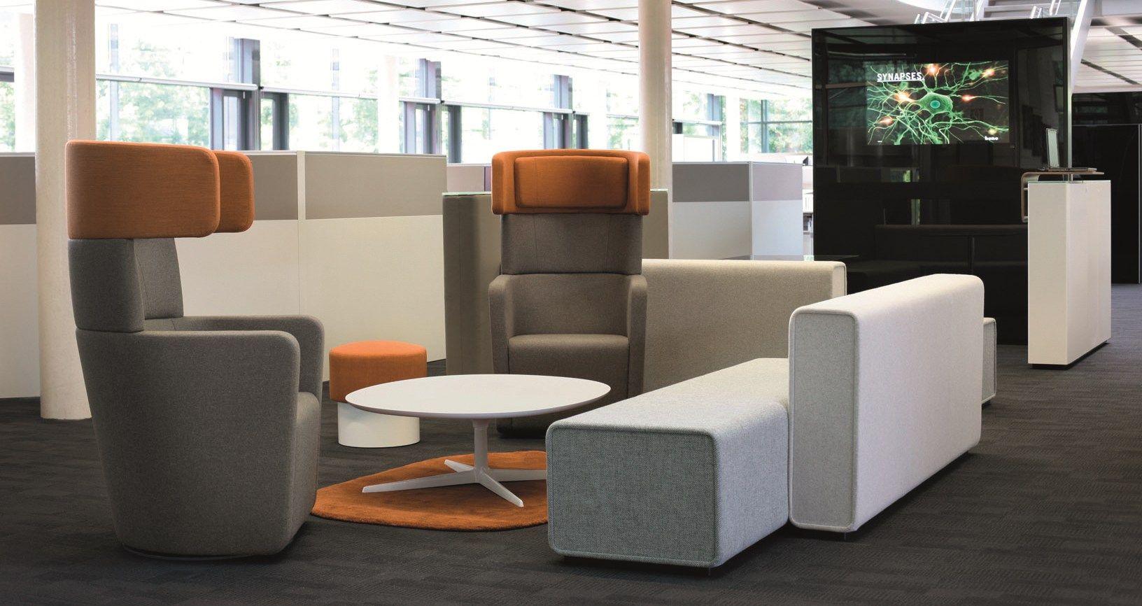 ohrensessel mit hoher r ckenlehne f r hotel gastro parcs wing chair by bene design pearsonlloyd. Black Bedroom Furniture Sets. Home Design Ideas