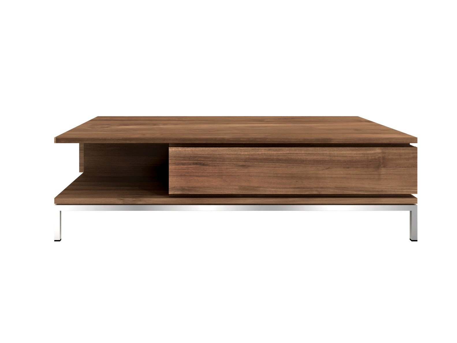 Rectangular teak coffee table teak essential collection by for Teak coffee table