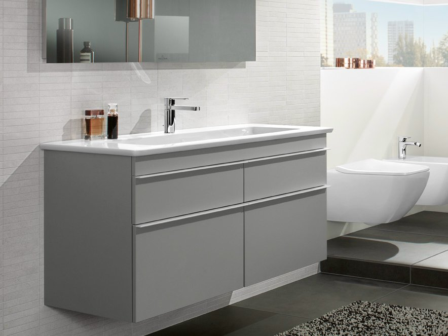 Venticello vanity unit by villeroy boch for Carrelage sol interieur villeroy et boch