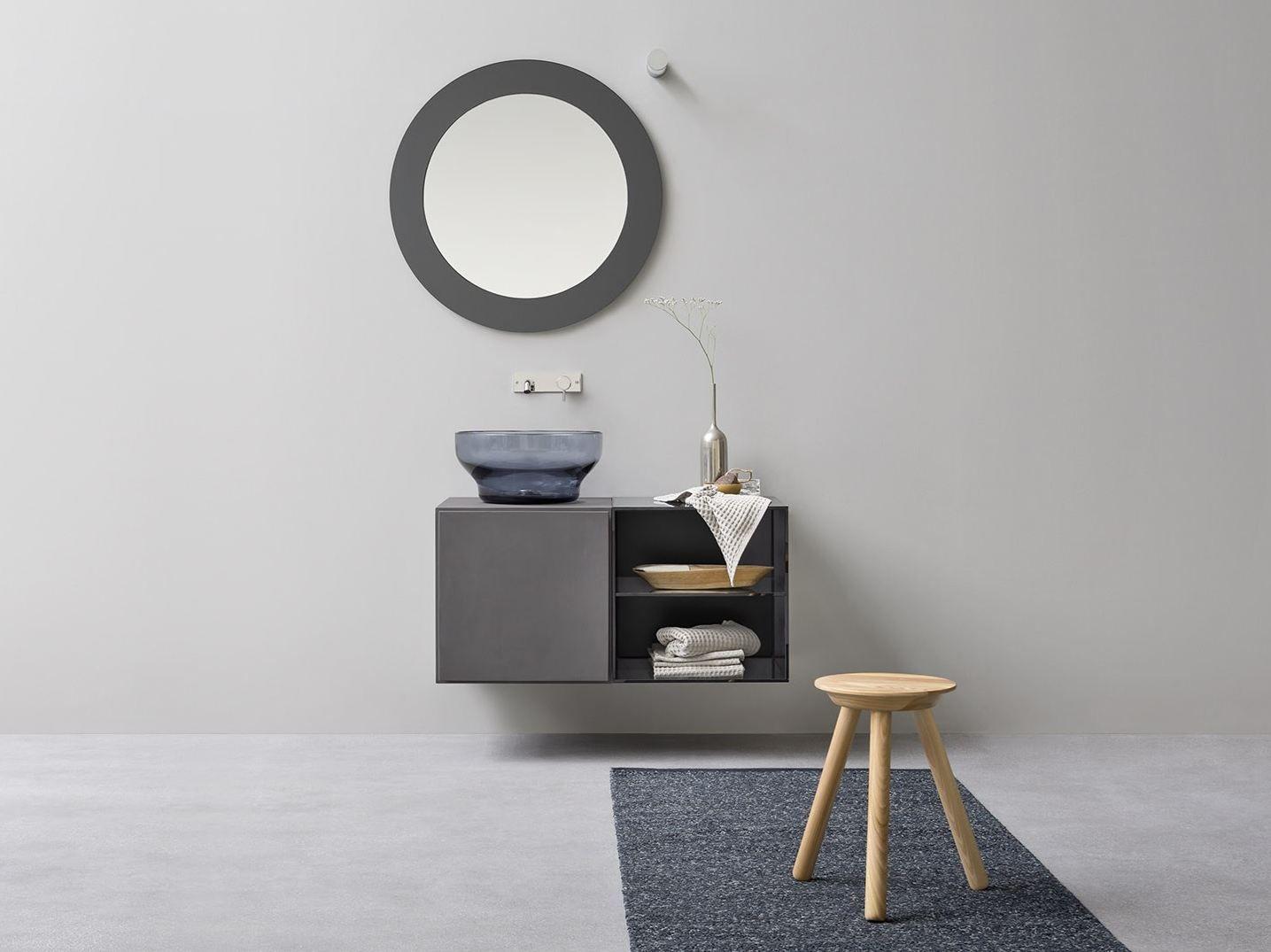 Meuble sous vasque simple avec tiroirs collection - Meuble sous vasque design ...