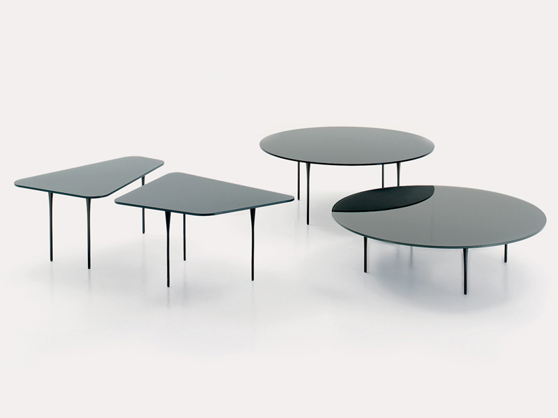Crystal Coffee Table Raffles By Nube Italia Design Marco