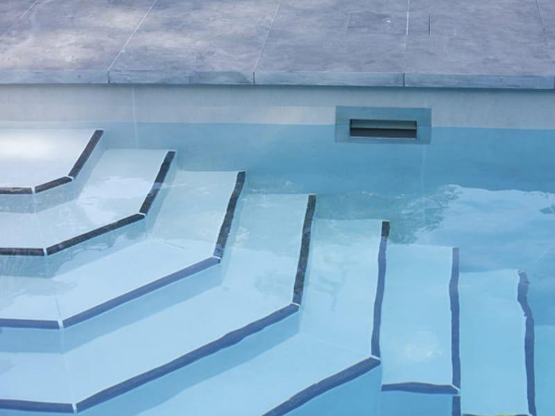 Gammastone gres 18mm revestimiento de piscinas by gammastone for Encimera gres porcelanico