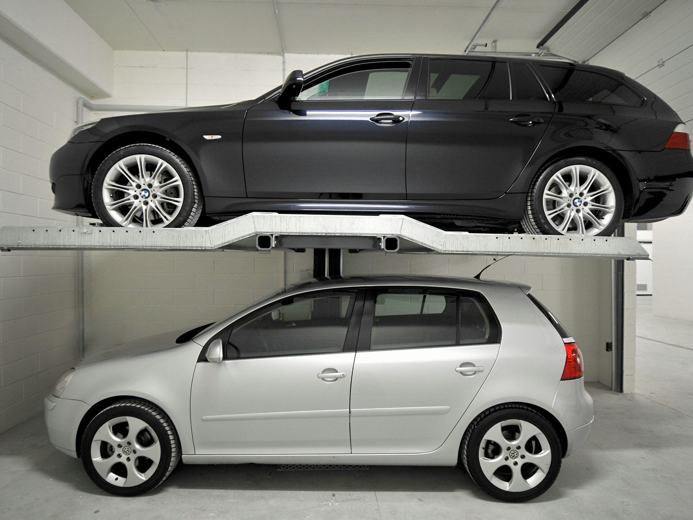 monte voitures et l vateur pour voiture series 1 by idealpark. Black Bedroom Furniture Sets. Home Design Ideas