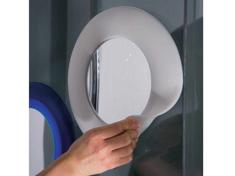 Specchio Rotondo In Gel Poliuretanico Per Bagno Miebrame