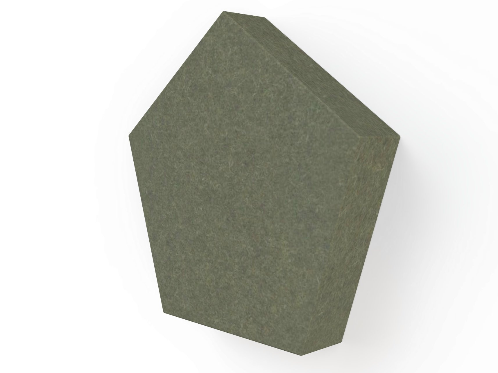 Decorative acoustical panels buzziblox penta by buzzispace - Decorative acoustic wall panels ...