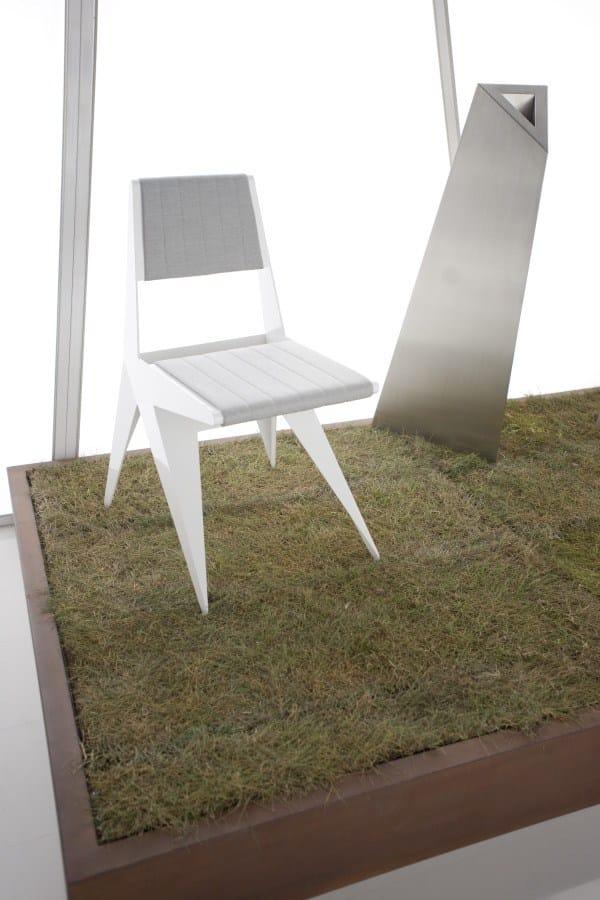 Star sedia by lamberti decor design antonio pio saracino for Sedia decor