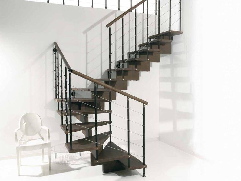 Escalier ouvert en acier inoxydable scenik 040 collection - Escalier ouvert ...