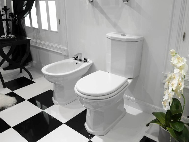 imagine robinet pour bidet avec vidage automatique by noken design. Black Bedroom Furniture Sets. Home Design Ideas