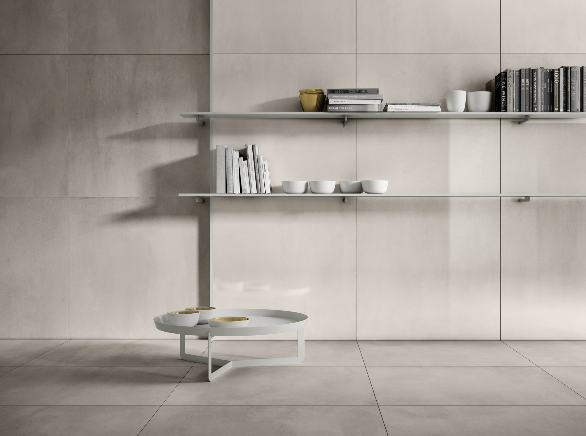 Porcelain stoneware wall floor tiles with metal effect - Piastrelle casalgrande padana ...
