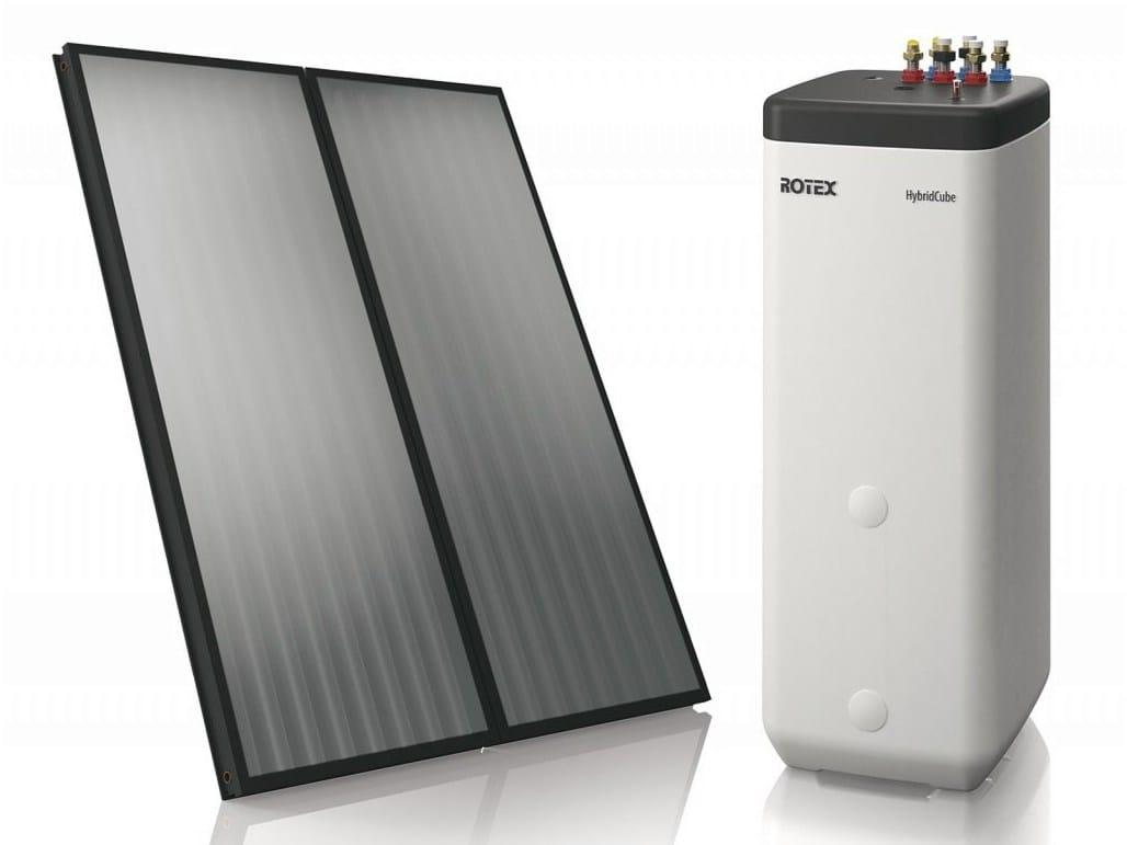 Pannello Solare Termico Rotex : Impianto solare termico rotex solaris by daikin air