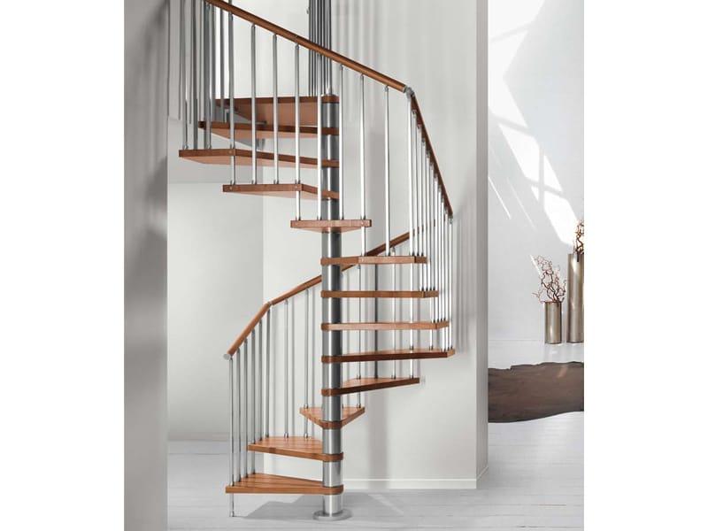 genius 020 wendeltreppe by fontanot spa. Black Bedroom Furniture Sets. Home Design Ideas