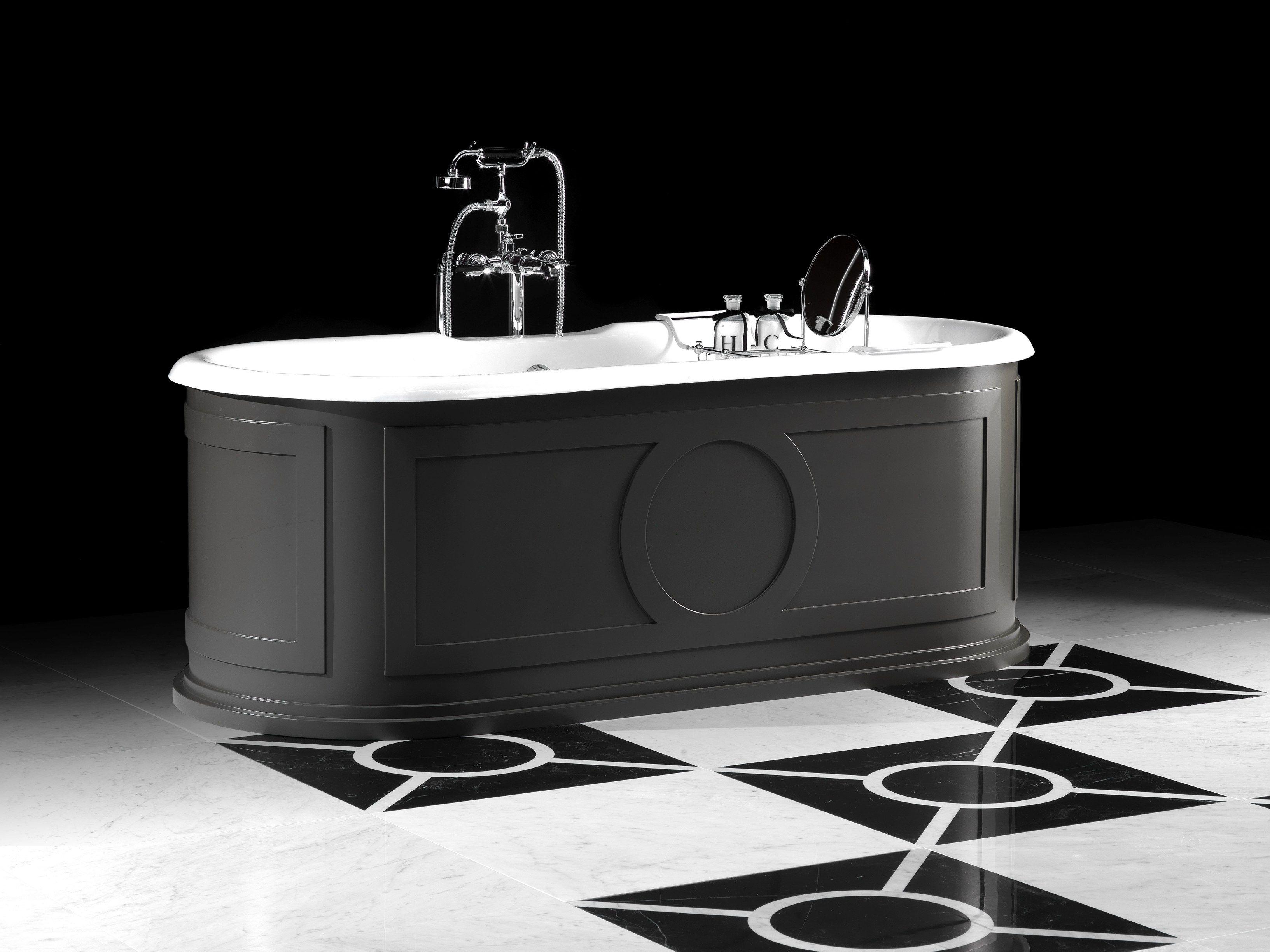baignoire en aluminium de style classique capitol by devon devon. Black Bedroom Furniture Sets. Home Design Ideas
