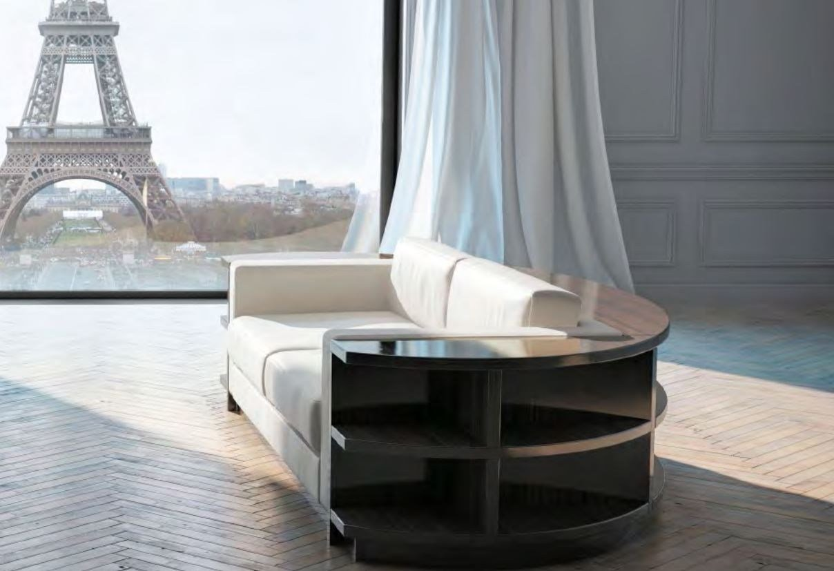 rondo canap by hugues chevalier. Black Bedroom Furniture Sets. Home Design Ideas