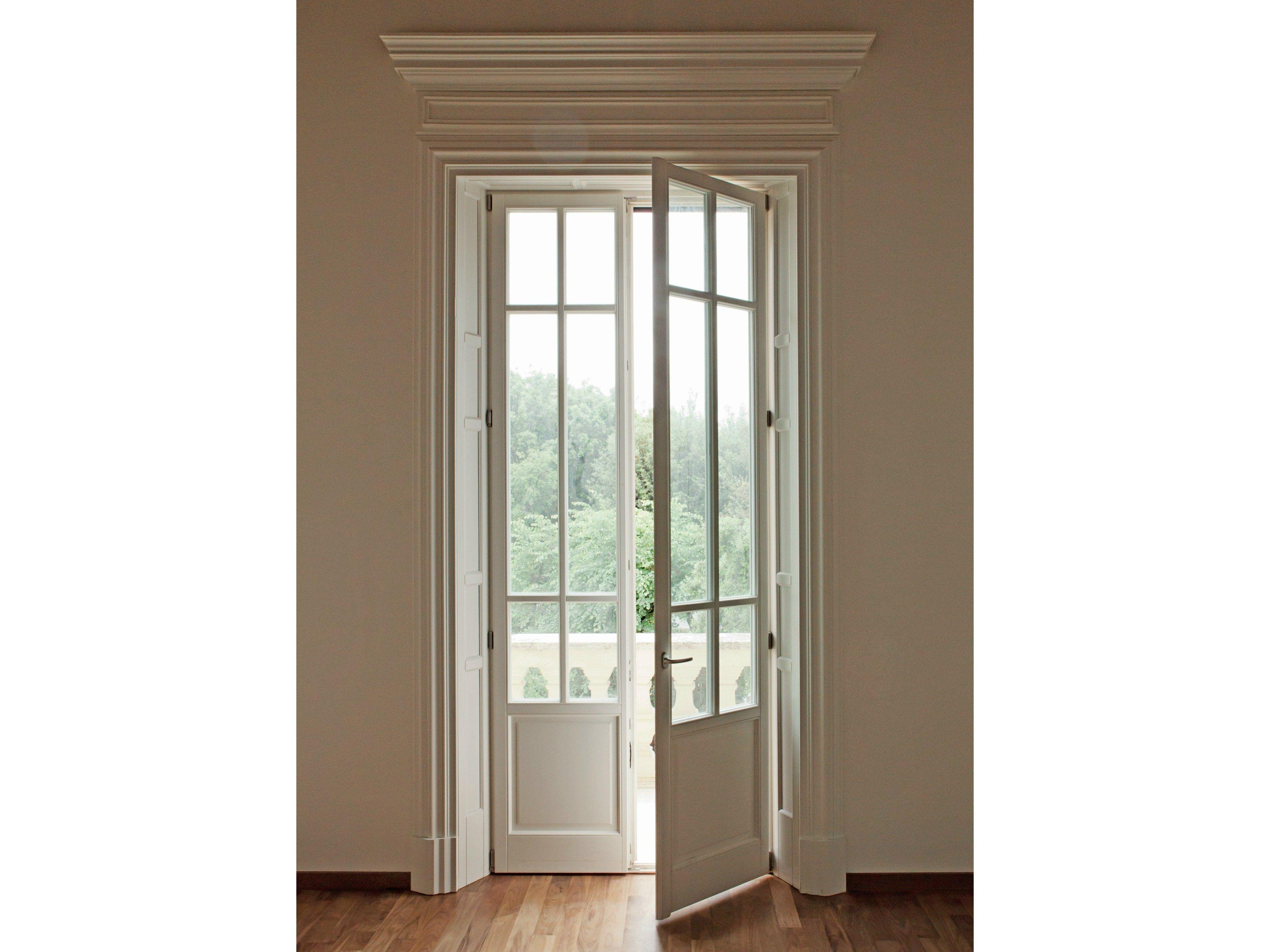 Legno arte porta francesa batente by de carlo casa - De carlo finestre ...