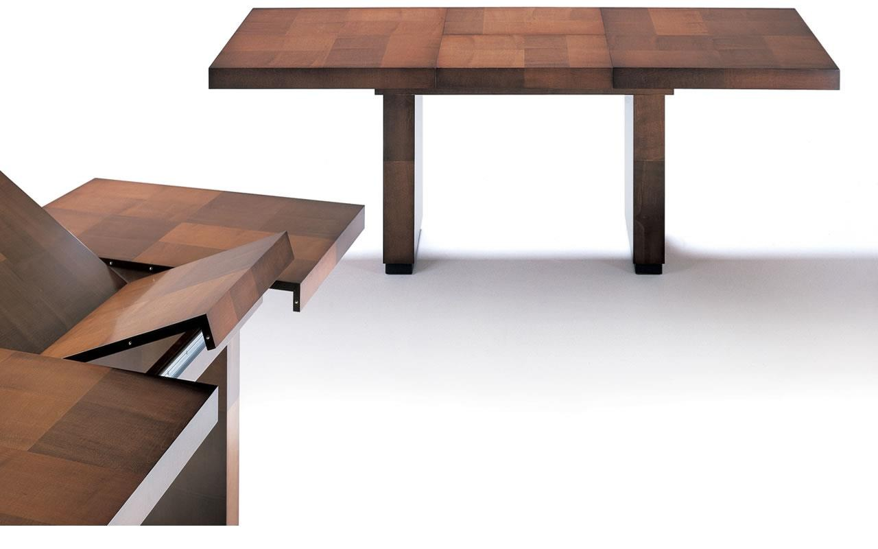 Tamara table console by hugues chevalier for Tables consoles extensibles