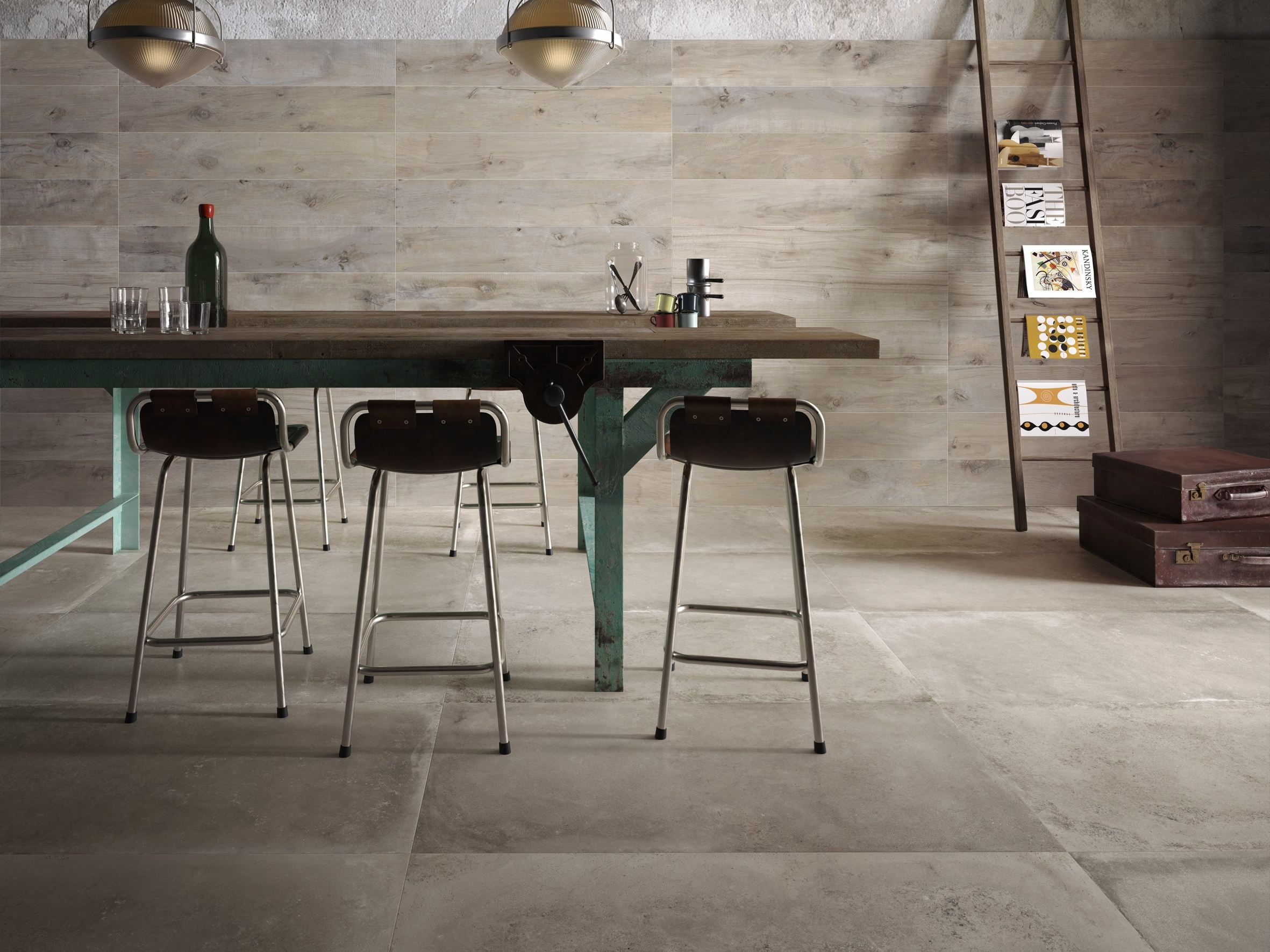 Pavimento/rivestimento in gres porcellanato BACKSTAGE by Flaviker ...