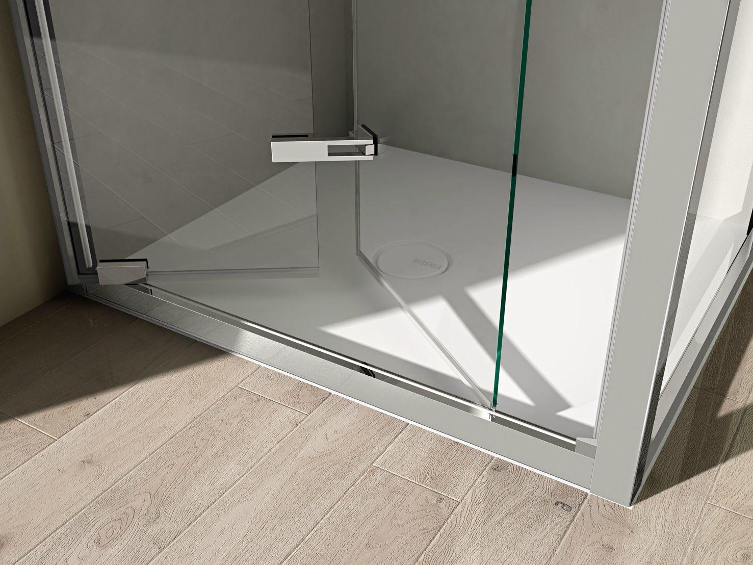 Box doccia angolare con porte a soffietto like 12 by ideagroup - Porta a soffietto per doccia ...