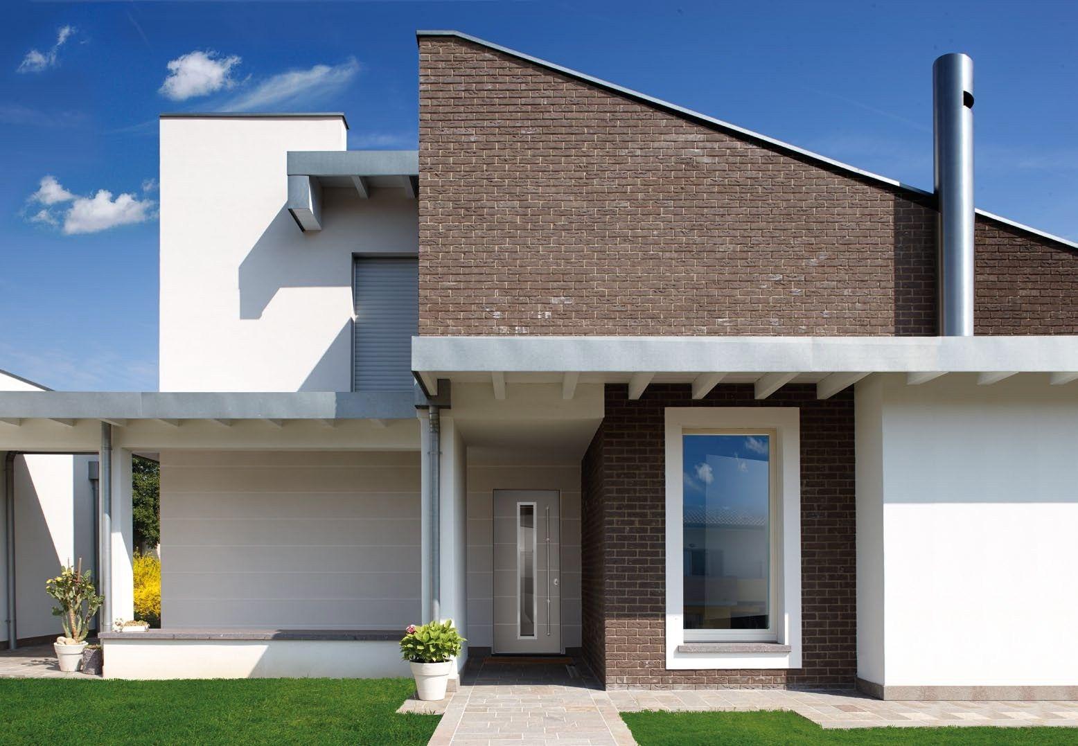 Porta d 39 ingresso blindata con pannelli in vetro frame by for Ingresso ville moderne