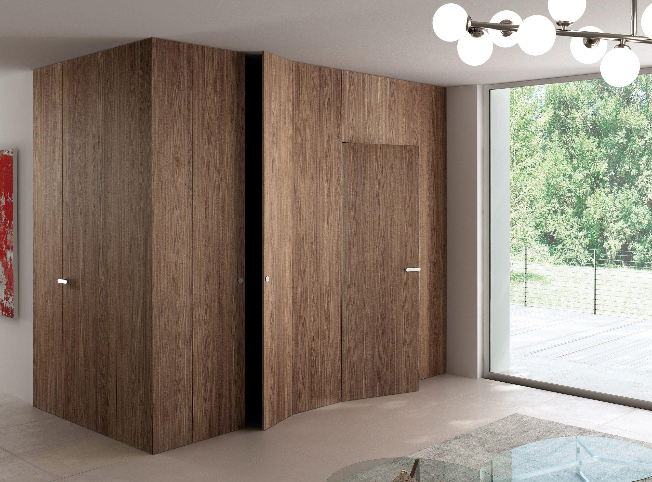 Boiserie porta in legno infinity system tabula by ghizzi for Porte xinnix