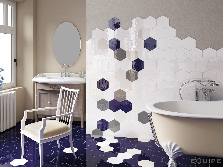 Hexatile rev tement mural by equipe ceramicas - Equipe ceramicas ...