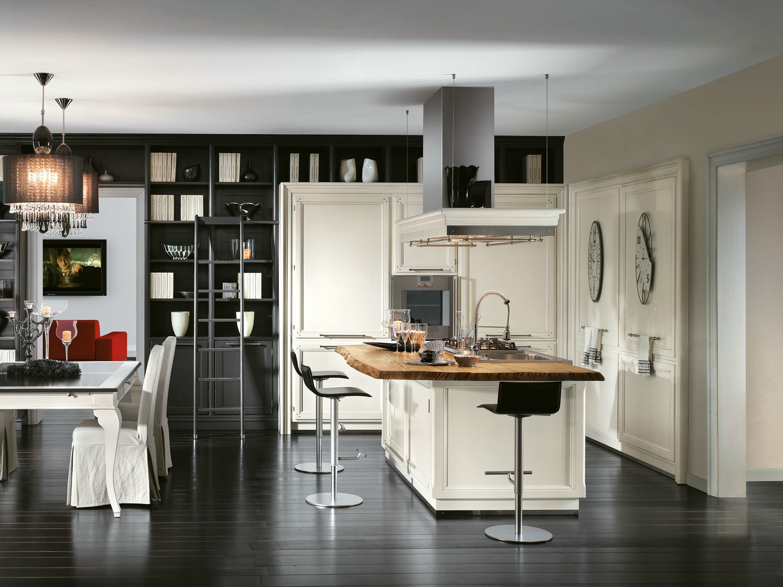 Cucina componibile con isola living collezione living by l - Cucina con l isola ...