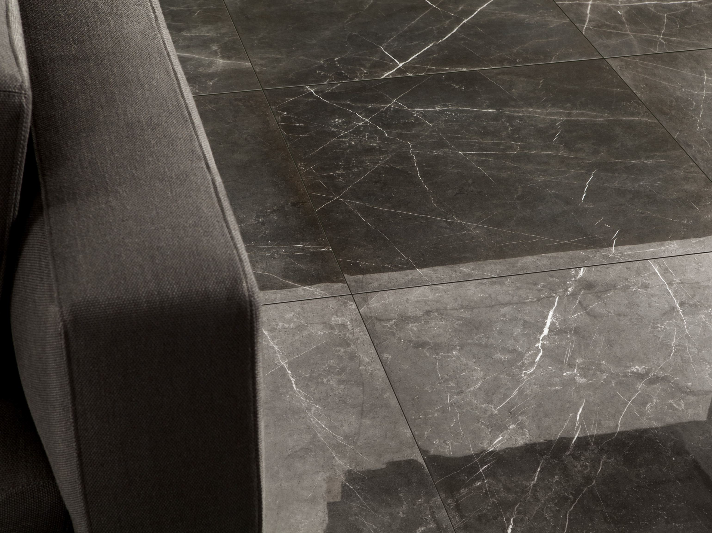 Porcelain stoneware wall floor tiles with marble effect - Revetement murale ...
