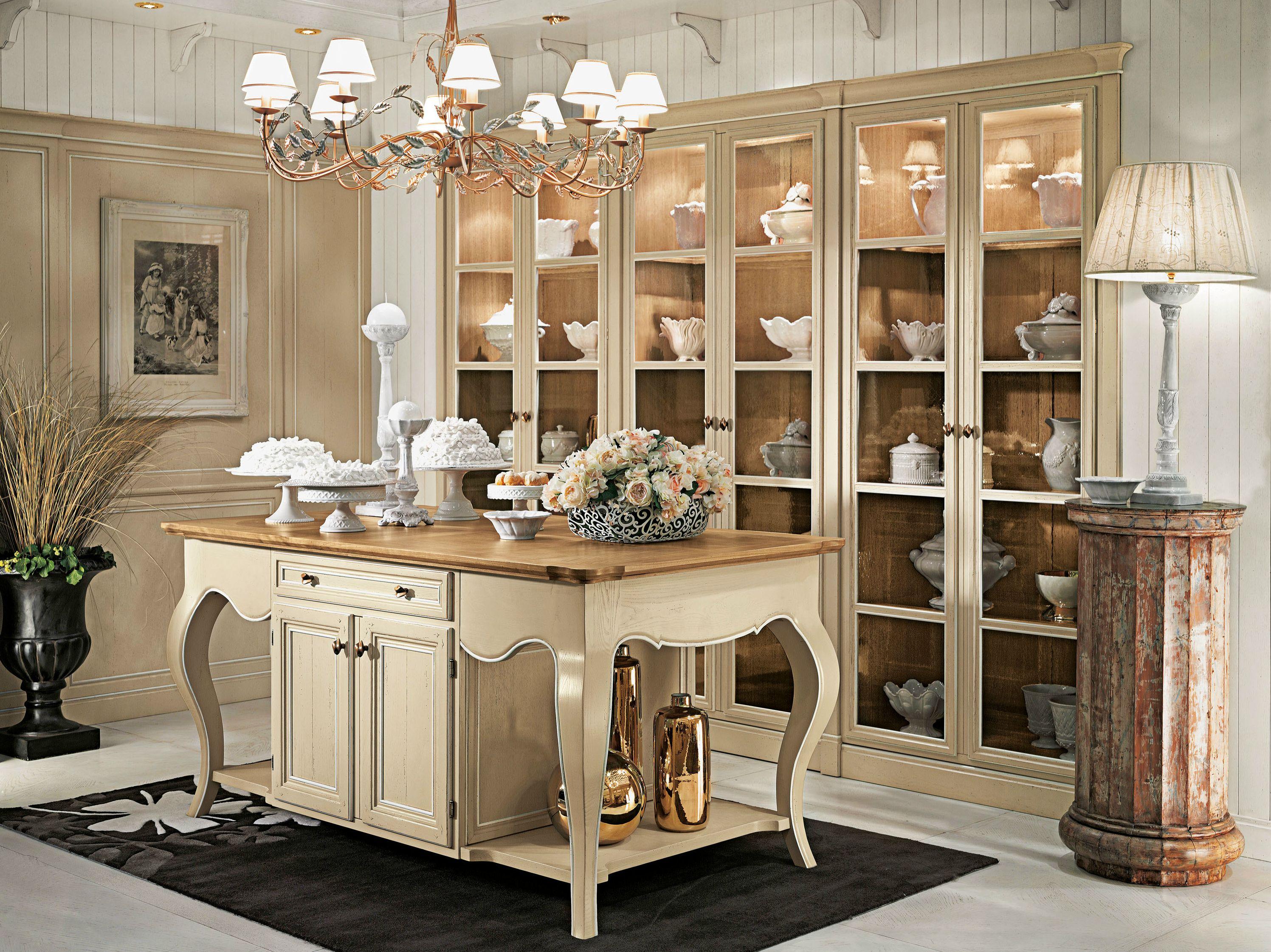 Vetrina in legno calendario monterey by l 39 ottocento - L ottocento mobili ...