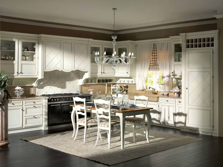 Cucina su misura in rovere monterey excelsa by l 39 ottocento - L ottocento mobili ...