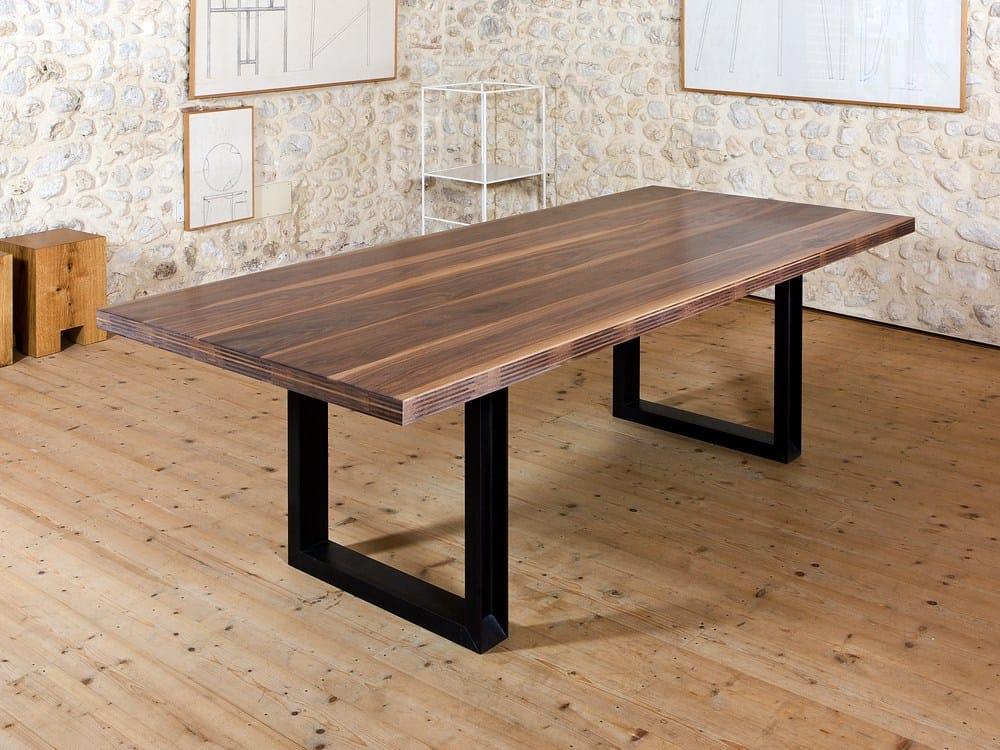 Cp lab design tavolo rettangolare by cp parquet for Tavoli rettangolari di design