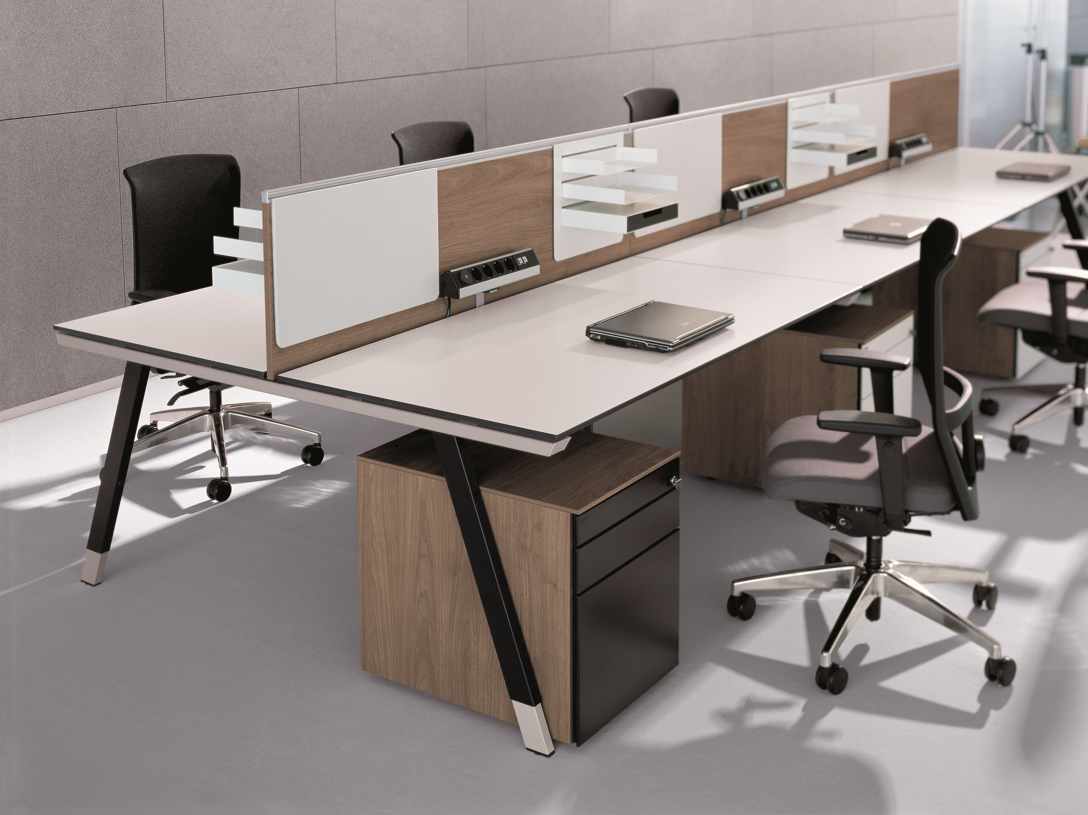 Office Workstation T Workbench By Bene Design Christian