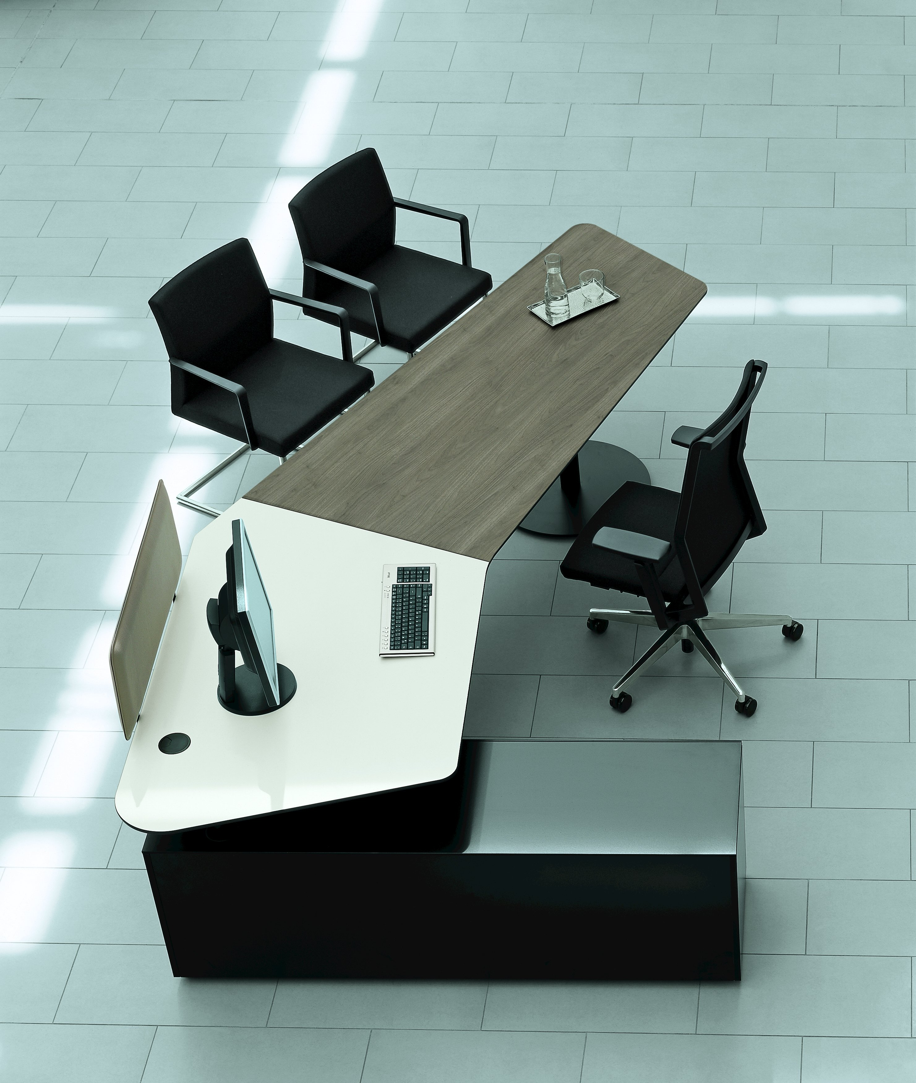 OFFICE WORKSTATION T-FRONT OFFICE BY BENE