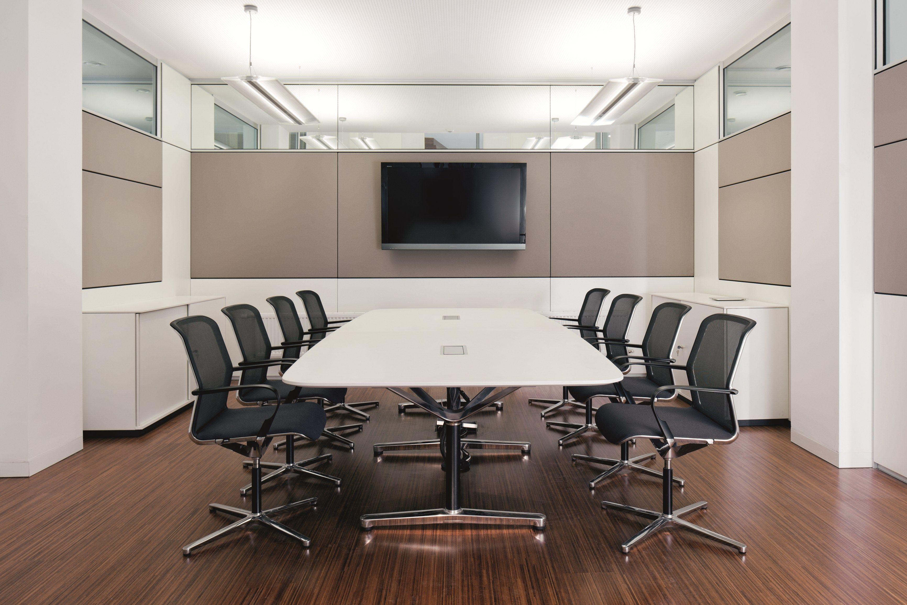 Table de r union filo conference by bene design eoos - Table de reunion design ...