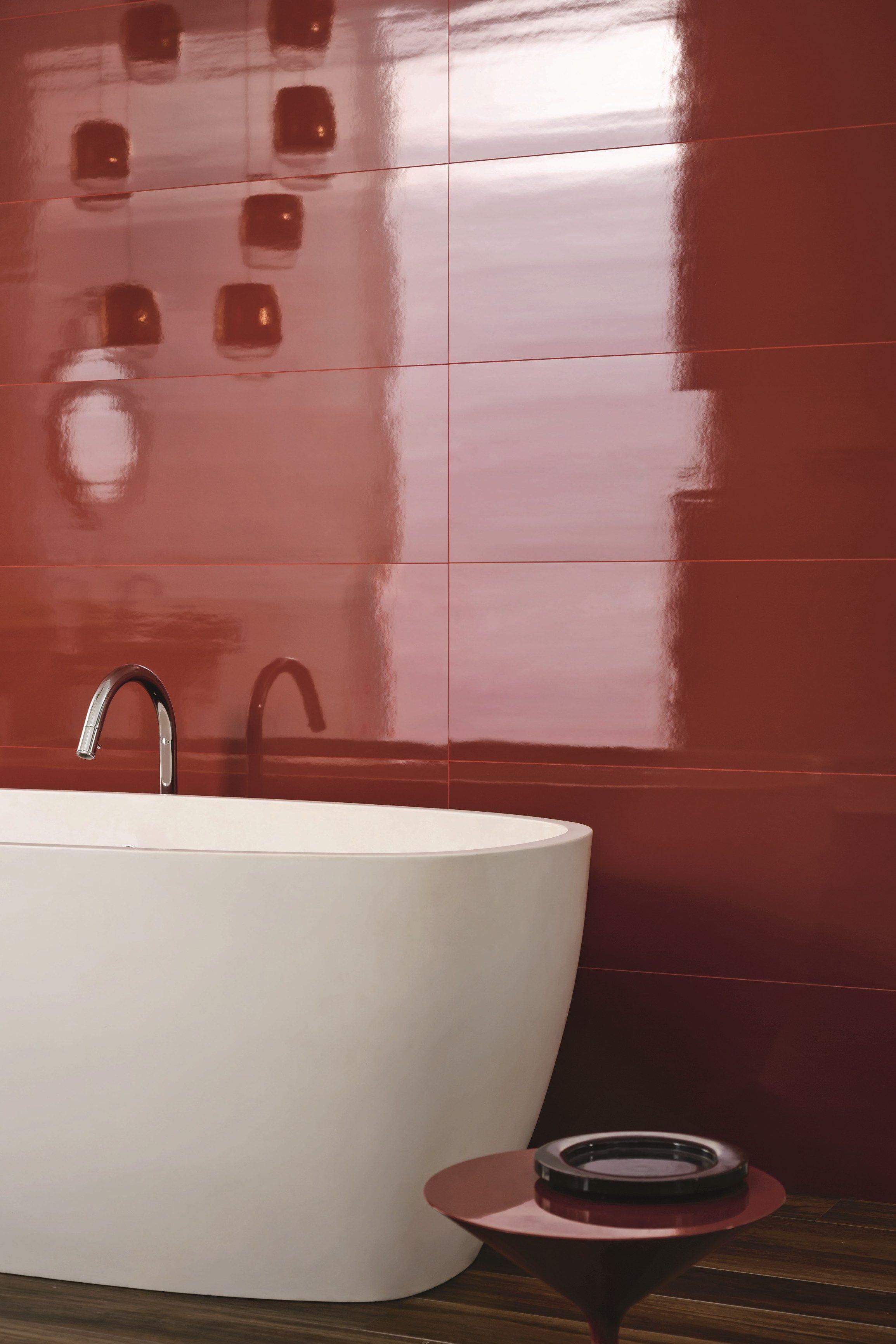 Rivestimento in ceramica a pasta bianca imperfetto by marazzi - Mattonelle bagno marazzi ...