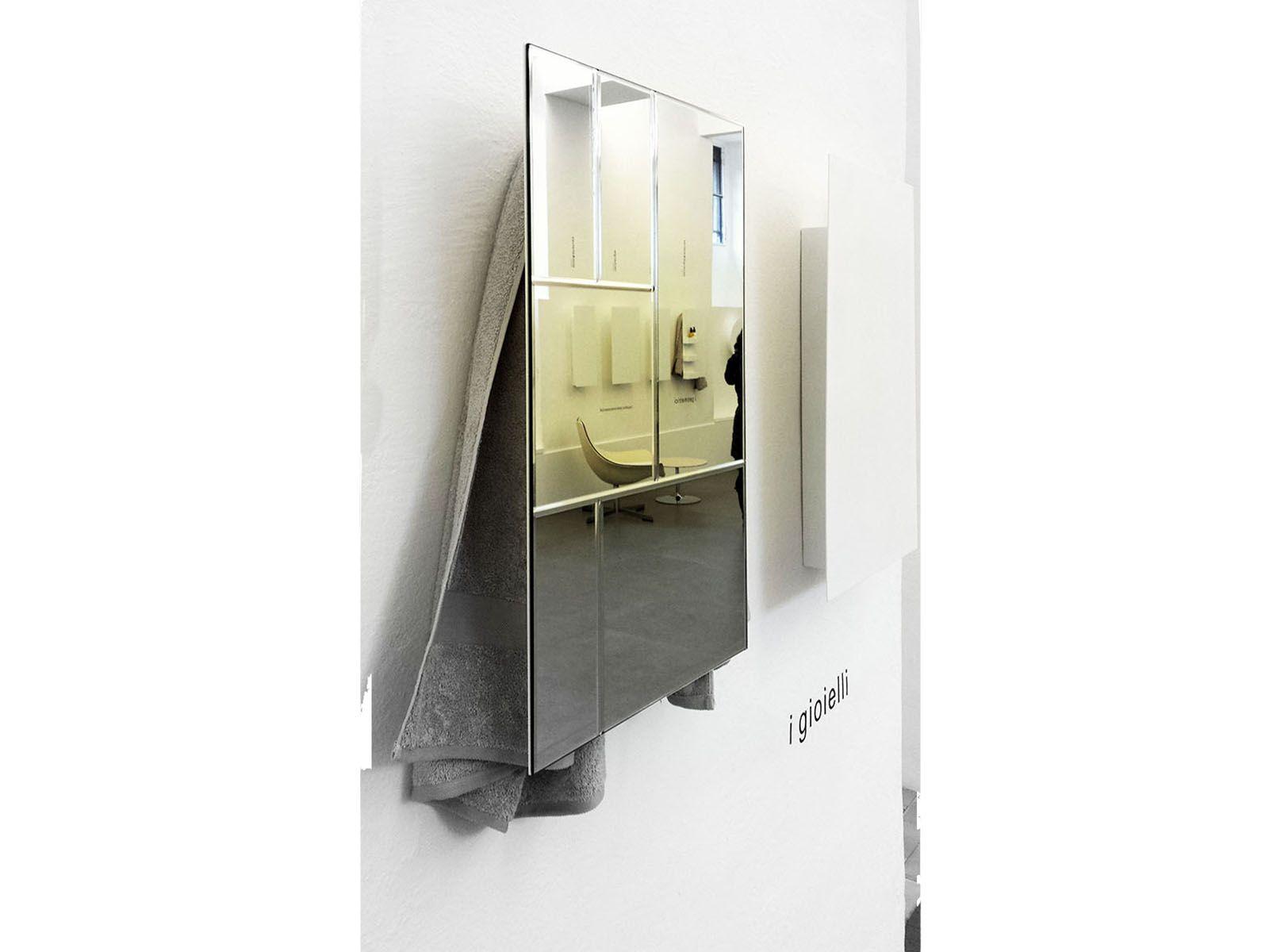 Scaldasalviette elettrico a parete a specchio mirror - Parete a specchio ...
