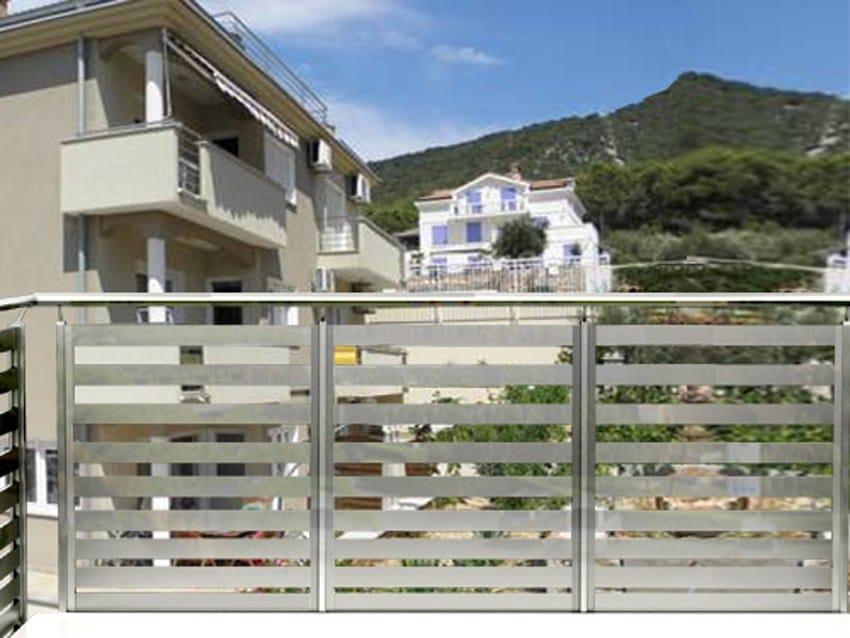 Baranda de escalera de aluminio para balcones baranda de - Barandas de aluminio ...