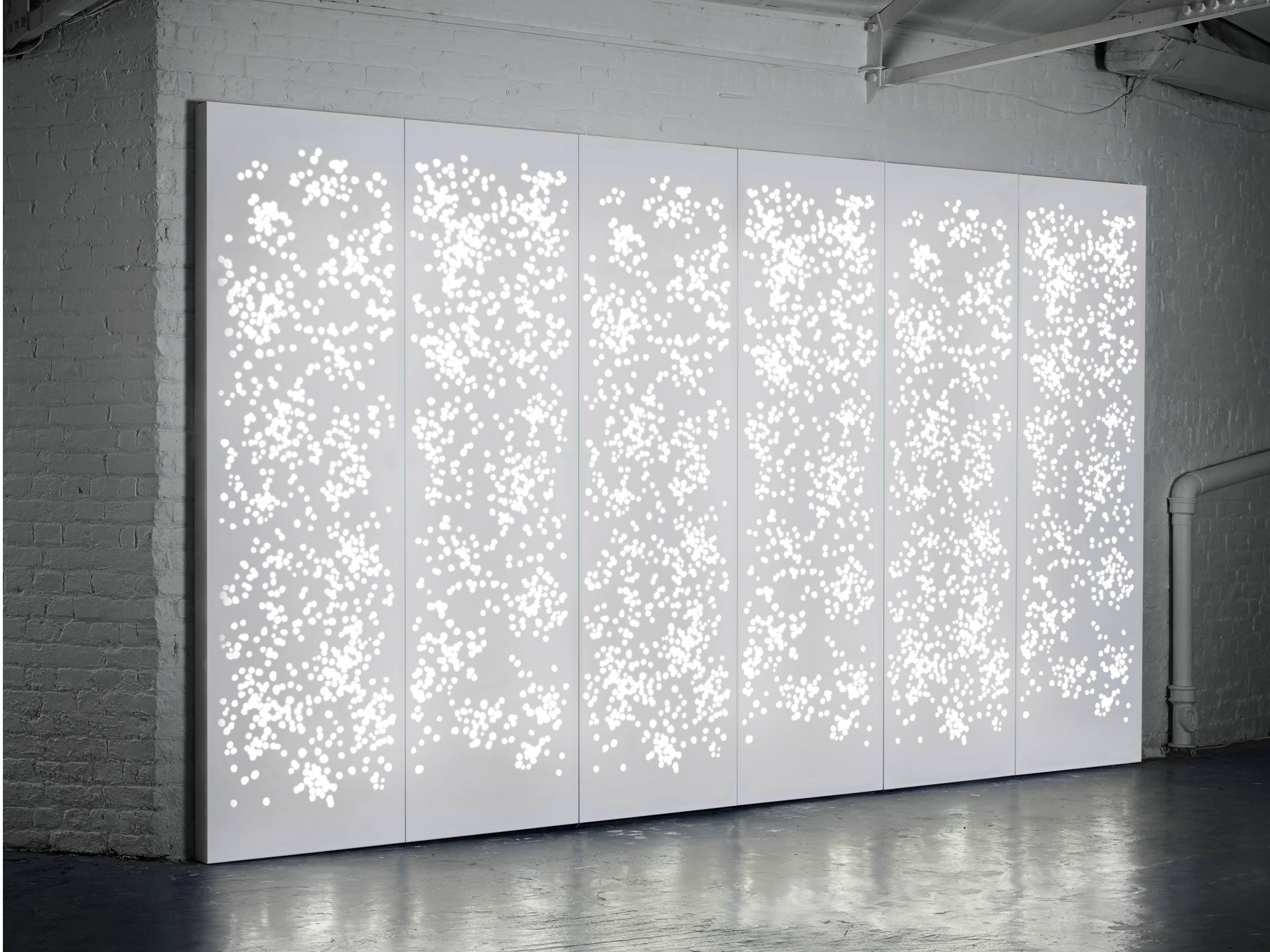 Light Wall Room Divider By Isomi Design Paul Crofts