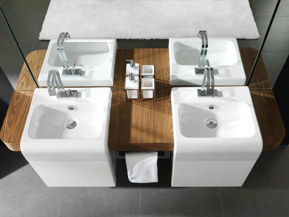 Doppelwaschtisch holz  NEOX | Doppel- Waschtisch By Noken