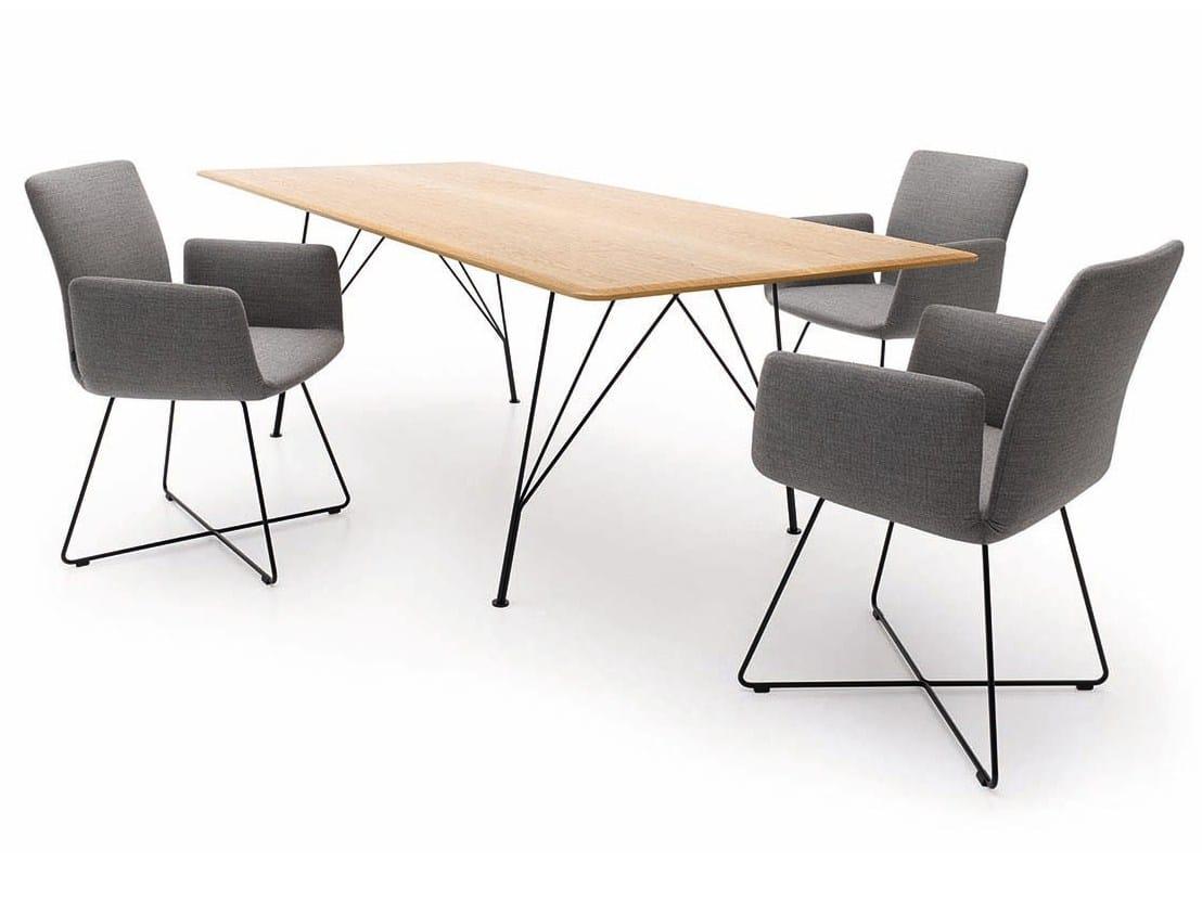 Tisch Jalis Cor ~ JALIS Rechteckiger Tisch by COR Sitzmöbel Helmut Lübke Design Jehs+Laub