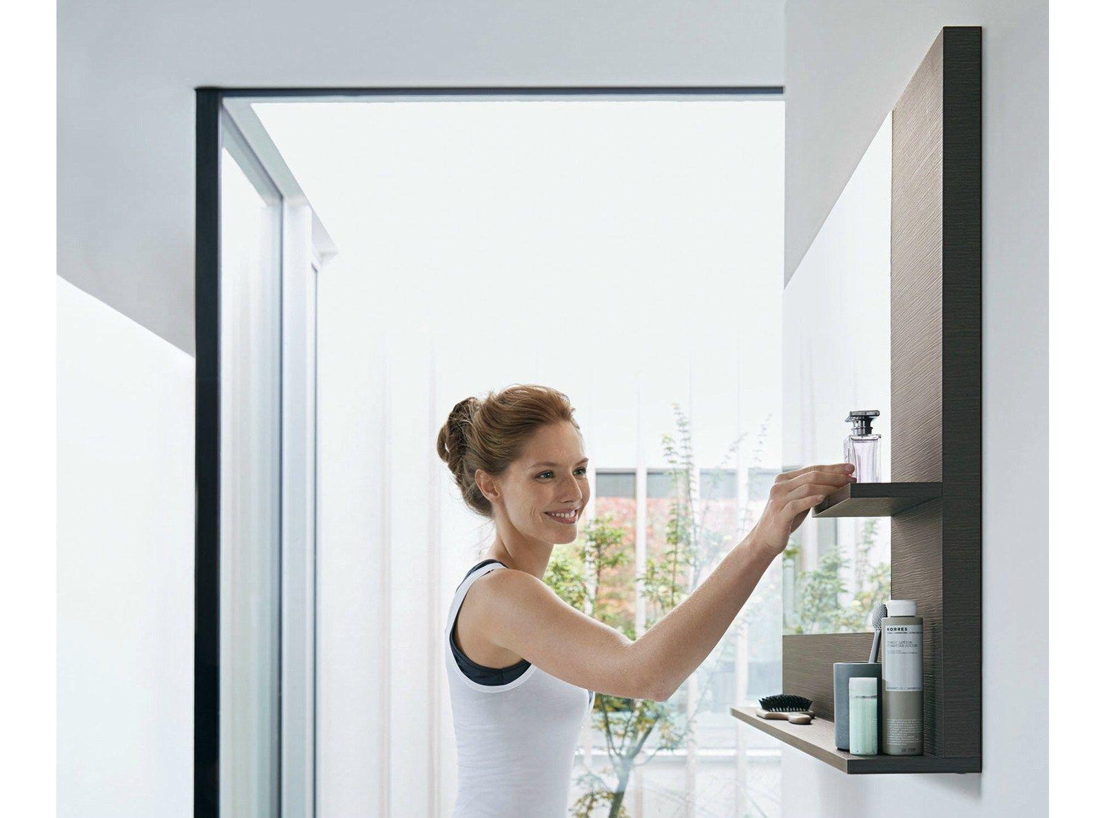 vero miroir avec clairage int gr by duravit design kurt merki jr. Black Bedroom Furniture Sets. Home Design Ideas