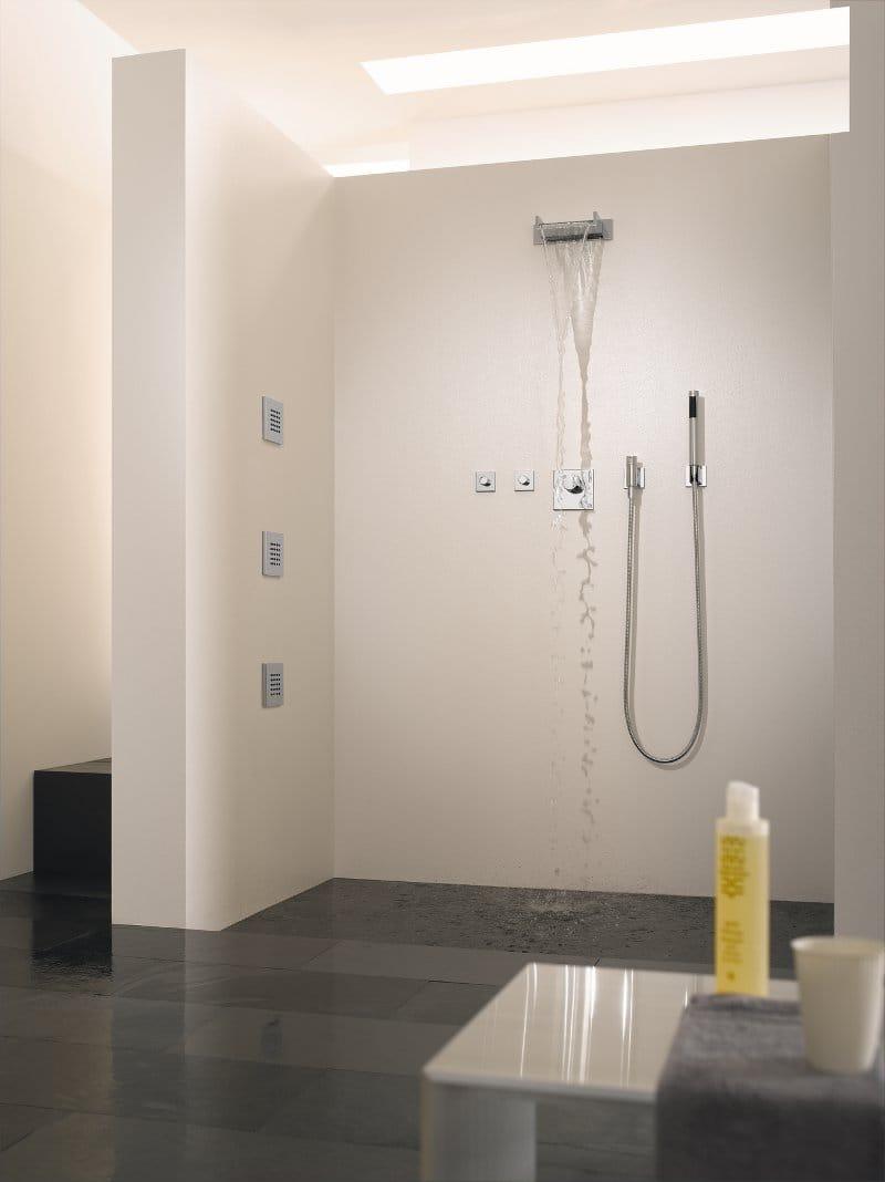 Built In Side Shower Side Rain By Dornbracht Design Sieger