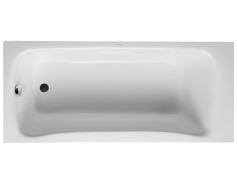 Puravida vasca da bagno da incasso by duravit design phoenix design - Vasca da bagno traduzione ...