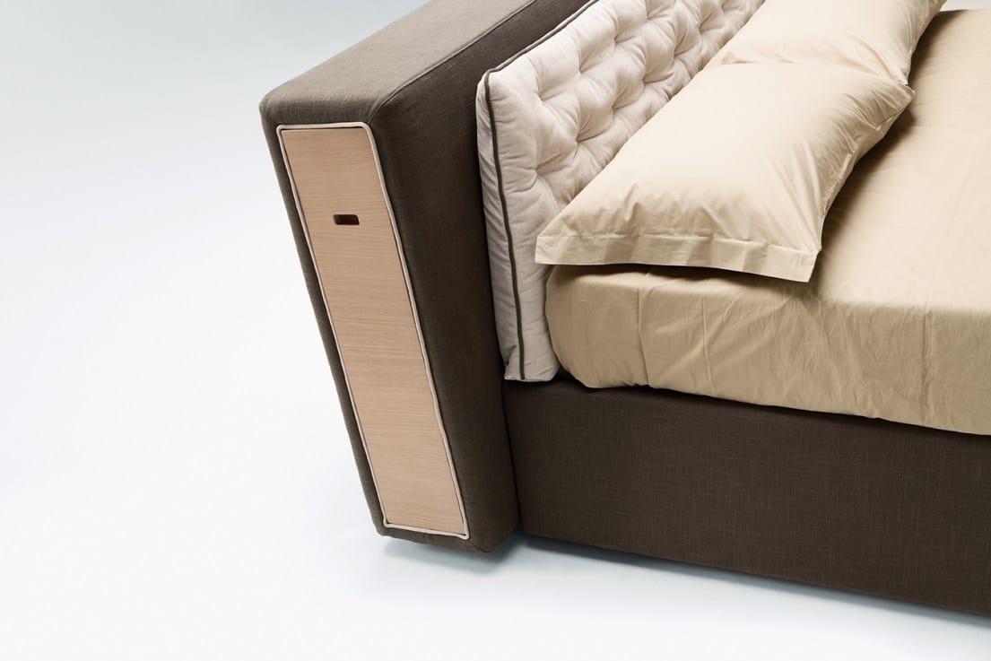 Bett mit kopfteil beh lter cayman by milano bedding design - Ikea spalliera letto ...
