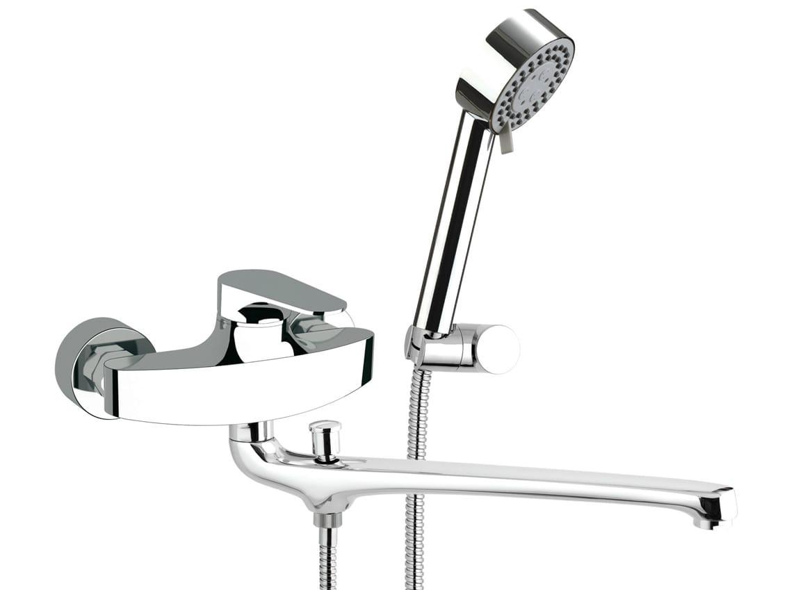 Class line miscelatore per vasca by remer rubinetterie - Rubinetto cucina a muro con doccetta ...