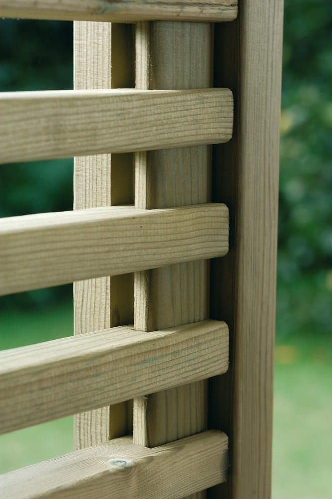 Spazio schermo divisorio da giardino by legnolandia - Palizzate in legno per giardino ...