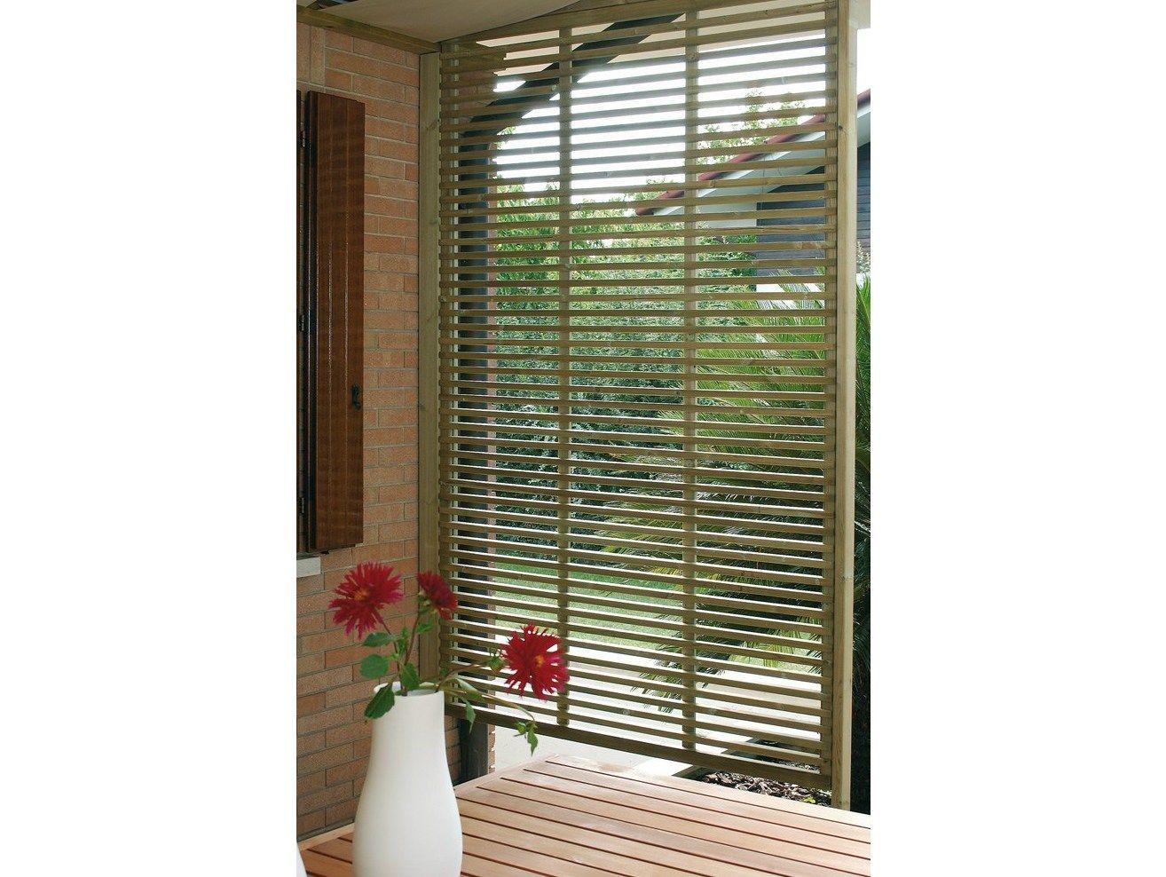 Spazio schermo divisorio da giardino by legnolandia for Divisori da giardino