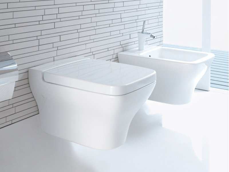 duravit toilets dcode elongated toilet seat and cover - Duravit Toilet