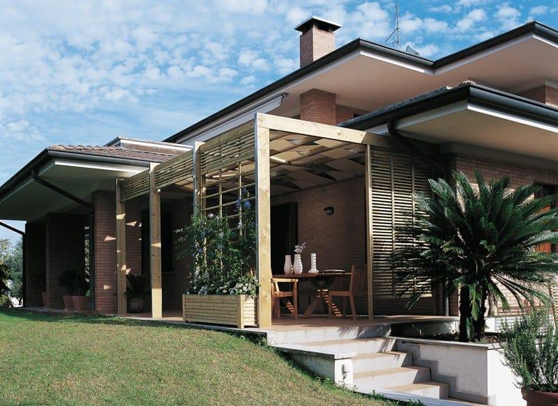 spazio freistehende terrassen berdachung by legnolandia. Black Bedroom Furniture Sets. Home Design Ideas