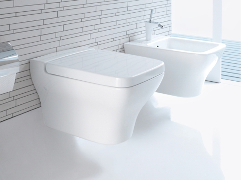 Bidet sospeso in ceramica collezione puravida by duravit for Architec bidet sospeso